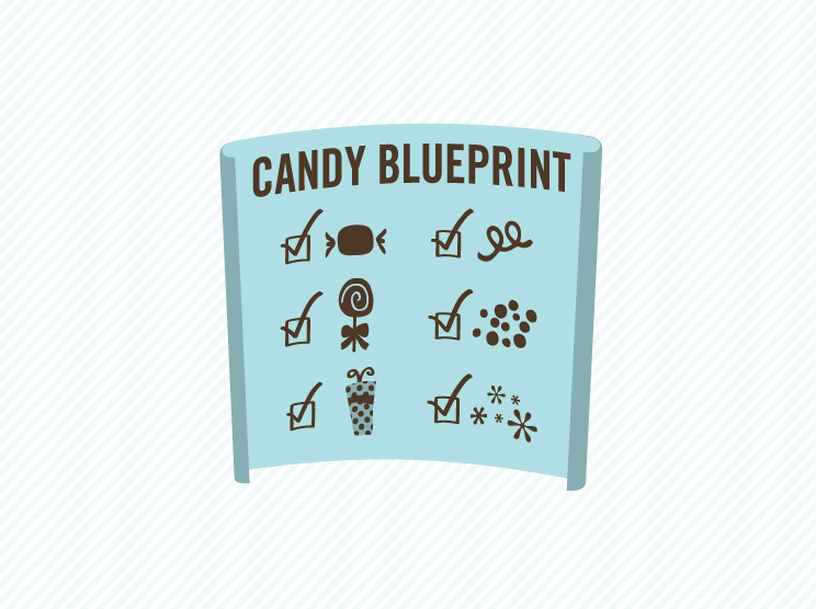 Candy Buffet Planning Illustration 2