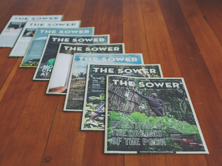 The Sower, Plant With Purpose's Quarterly Publication